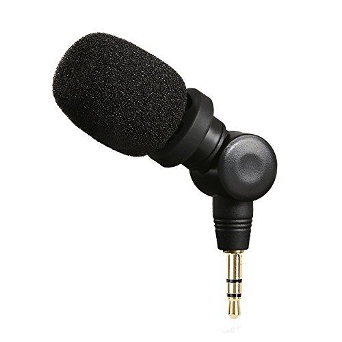 Saramonic SR-XM1 3.5mm TRS Omnidirectional Microphone Plug and Play Mic for DSLR Cameras, Camcorders, CaMixer, SmartMixer, LavMic, SmartRig+ and UWMIC9/UWMIC10/UWMIC15 Wireless Microphone Systems