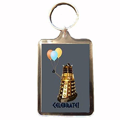 Keyring Doctor Who Dalek Balloons