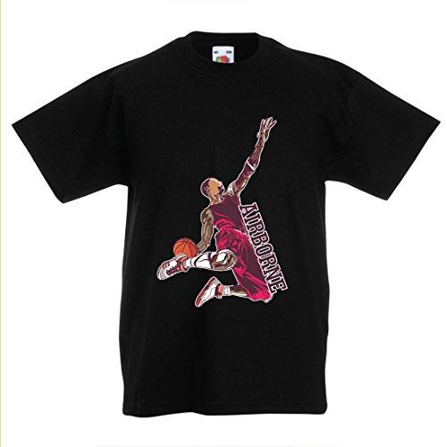Camisas para niños Sé el señor de la Gravedad, Baloncesto Freestyle Dunk - Me Encanta Este Juego (7-8 Years Negro...