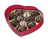new whey chocolate truffle heart gluten free milk free nut free vegan