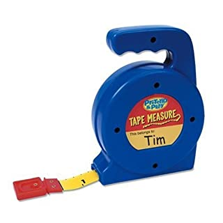 Learning Resources Play Tape Measure, 3 Feet Long, Construction Toy, Easy Grip, Ages 4+