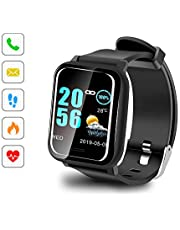 "Sonkir Smartwatch mit 1.3"" Colored Touchscreen, Pulsmesser, wasserdichtem IP67-Fitness-Tracker-Pedometer-Armband, kompatibel mit iPhone, Samsung, Huawei, Nexus, Android, iOS-Handys"