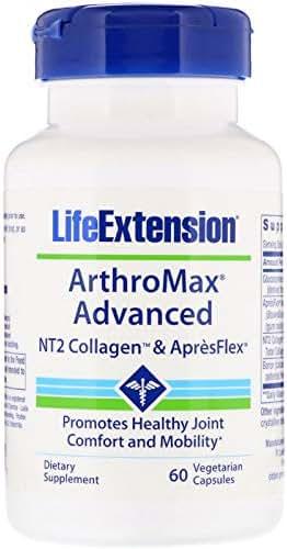 Life Extension, ArthroMax Advanced, NT2 Collagen & ApresFlex, 60 Vegetarian Capsules