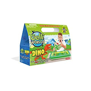 Zimpli Kids Gelli Worlds - Dino Pack, Multicolor, One Size
