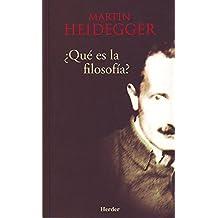 ¿Qué es la filosofía? (Spanish Edition)