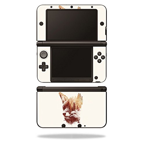 MightySkins Skin Compatible with Nintendo 3DS XL - Blind Fox | Protective, Durable, and Unique Vinyl Decal wrap Cover | Easy to Apply, Remove, and Change Styles | Made in The USA