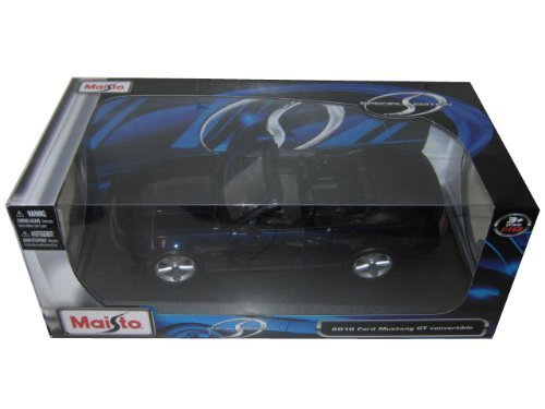 2010 Ford Mustang GT Convertible Dark Blau 1/18 by Maisto 31158 by Maisto