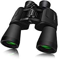SkyGenius 10 x 50 Powerful Binoculars for Adults Durable Full-Size Clear Binoculars for Bird Watching Travel Sightseeing...