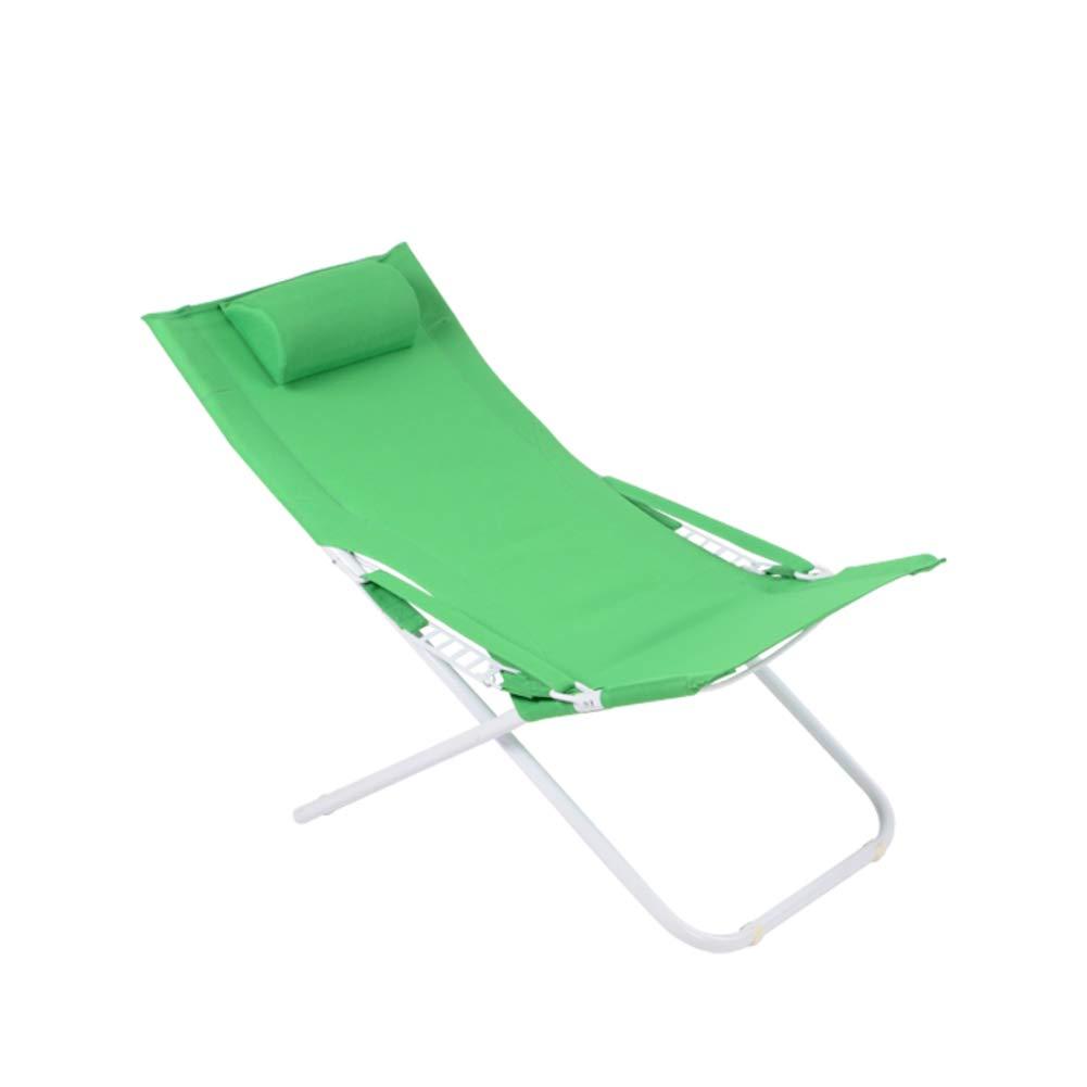 LE Outdoor-Klappstuhl Lounge Chair Lounge Chair Mittagspause Stuhl Nickerchen Stuhl Leinwand Sun Strandkorb