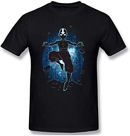 Avatar The Last Airbender Shadow of Aang Men's Basic Short Sleeve T-Shirt