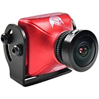 RunCam Eagle 2 800TVL FPV Camera 2.1mm Lens 16:9 RD-169-L25 Aluminum Alloy for Drone Quadcopter Multicopter Red by Crazepony