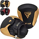 RDX Boxing Pads Focus Mitts, Curved Hook and Jab Hand Target Padded Strike Shield, Great for MMA, Punching, Martial Arts, Muay Thai, Boxercise, Kickboxing, Karate and Coaching Training