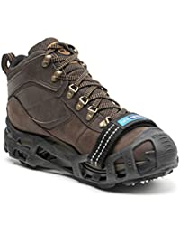 Walk with Powder Strap, Made in USA, Snow and Ice Traction Cleats for Shoes and Boots