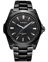 Relógio Masculino Curren Analógico 8109 Preto