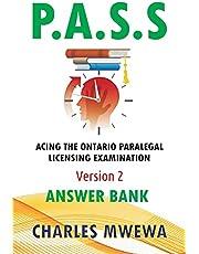 P.A.S.S, Version 2: Answer Bank