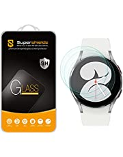 (3 Pack) Supershieldz Designed for Samsung Galaxy Watch 4 (40mm) Tempered Glass Screen Protector, Anti Scratch, Bubble Free