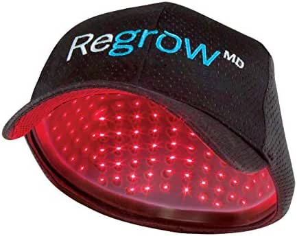 HairMax RegrowMD Laser Cap 272 (FDA Cleared). 272 Medical Grade Lasers. Stimulates Hair Growth, Reverses Thinning, Regrows Hair.