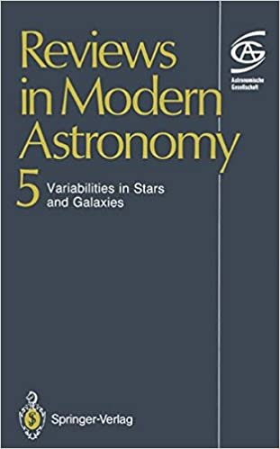 Reviews in Modern Astronomy: Variabilities in Stars and Galaxies