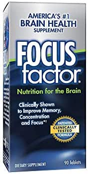 FOCUSfactor 90 Tablet dietary supplement (90 Tablets)