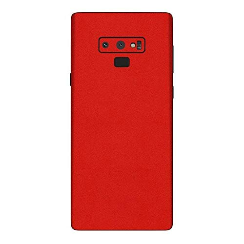 8f5085c13fb Sticker for Samsung Galaxy Note 9 Back and Side Wraps/Skins Sticker by Smart  Saver - Red