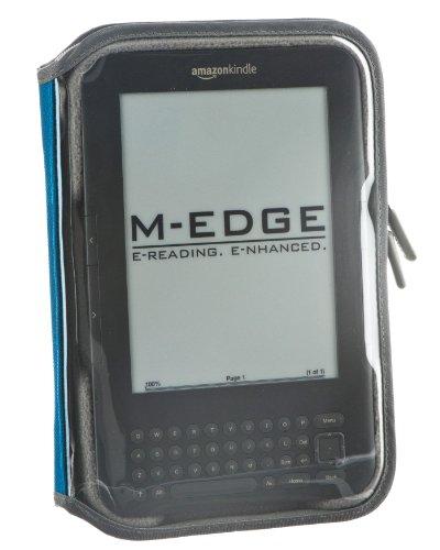 M-Edge Leisure Kindle Jacket, Teal (Fits Kindle Keyboard) (M Edge Keyboard Charger)