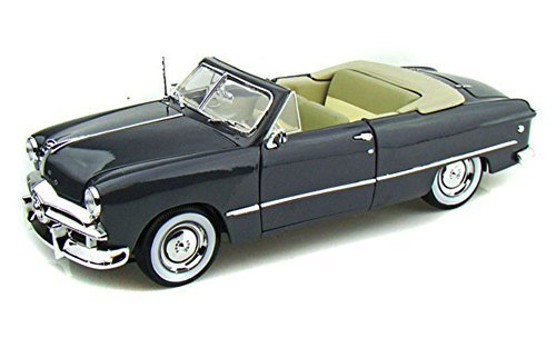 1949 Ford Convertible, Gray - Maisto 31682 - 1/18 Scale Diecast Model Toy Car ()