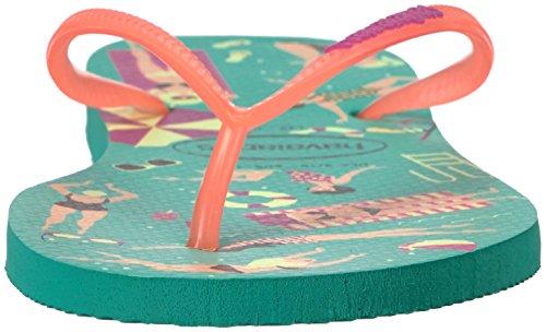 Green Havaianas Women's Slim Mint Sandal Cool Flip Flop nRC8qxC0wp