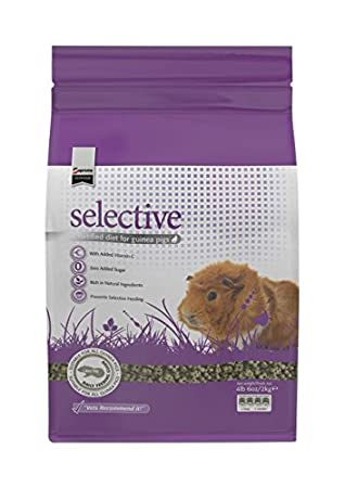 Amazon supreme petfoods science selective guinea pig food 4 supreme petfoods science selective guinea pig food 4 lb ccuart Gallery