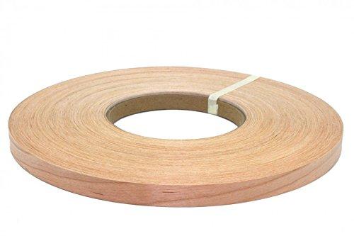 "Cherry pre glued Wood Veneer edge banding [1/2"" to 3"" x250'] (1''x250') from Cherry"