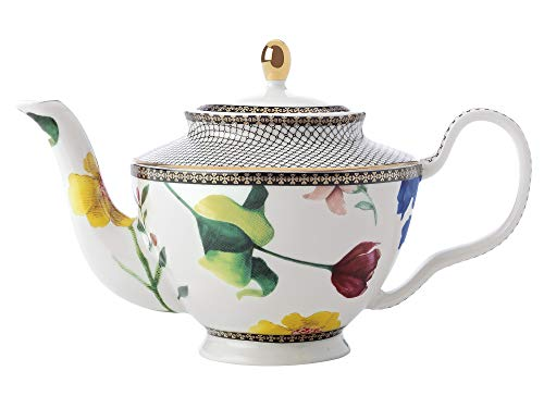 Maxwell & Williams Teas & C s - Tetera pequena con infusor y contessa (porcelana, 500 ml), color blanco