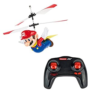 Carrera RC - Officially Licensed Flying Cape Super Mario 2.4GHz 2-Channel Rechargeable Remote Control Helicopter Drone Toy with Easy to Fly Gyro System - 41L 0AWMv6L - Carrera RC – Officially Licensed Flying Cape Super Mario 2.4GHz 2-Channel Rechargeable Remote Control Helicopter Drone Toy with Easy to Fly Gyro System