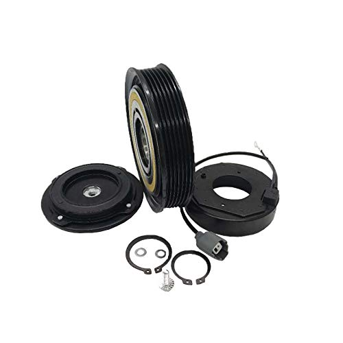 Hex Autoparts A/C AC Compressor Clutch Repair Kit - Drive Plate Hub Pulley Bearing Coil for Acura TL MDX Honda Pilot Ridgeline Accord Odyssey