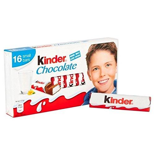 Kinder Chocolate De 16 Mini-Golosinas 200g (Paquete de 2)