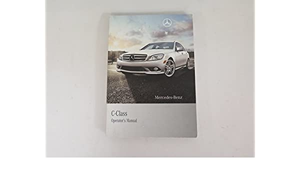 Mercedes-Benz Owner/'s Manual Book Case Owners Guide Black Leather OEM