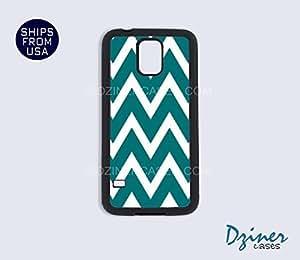 Galaxy S4 Case - Aqua Chevron