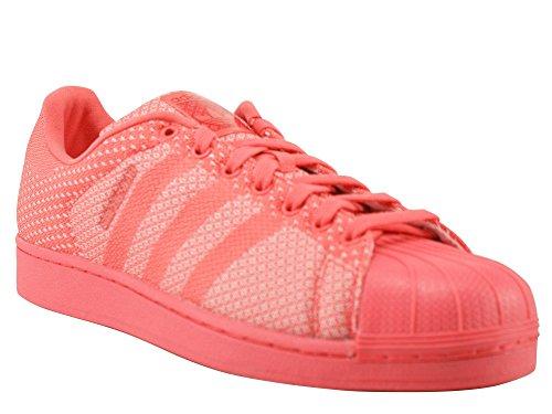 Adidas Originals SUPERSTAR WEAVE Zapatillas Sneakers Rojo para Unisex