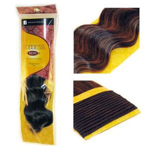 "Sensationnel Goddess Loose Body Wave Remy Weaving for Hair Extensions 18"" 27"