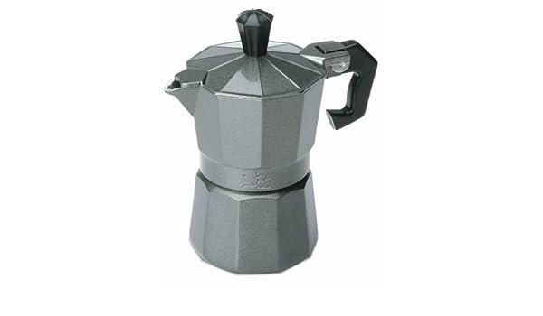 Jata Hogar CS 3 - Cafetera italiana, color plateado: Amazon.es: Hogar