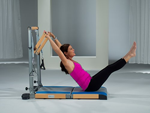 Beverly Hills Fitness Supreme Pilates Pro Spp089 With Ballet Barre Toning Tower Yoga Pad And Dvd S