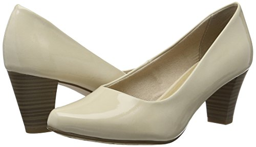 Chiuse Decolleté Beige 22430 Donna Patent 452 cream Tamaris vxqzwp1A