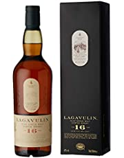 Lagavulin 16 Year Old Single Malt Scotch Whisky – From the shores of Islay to your glass – 70cl