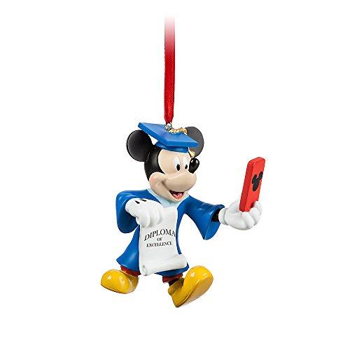Disney Mickey Mouse Graduate Figural Ornament (Ornaments Mouse)
