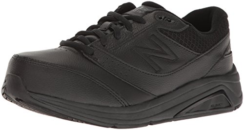 New Balance Women's Womens 928v3 Walking Shoe Walking Shoe, Black/Black, 7 2E US
