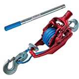 3 Ton Ratchet Puller With 35' Of 5/16'' Amsteel Blue