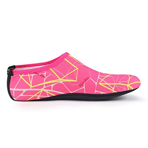 Pink da Scarpe Donna Immersione SABOLAY Striped UXxPqwAHw7