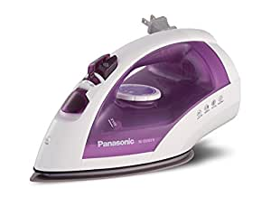Panasonic NI-E650TR Steam/Dry Iron with U-Shape Titanium Coated Soleplate
