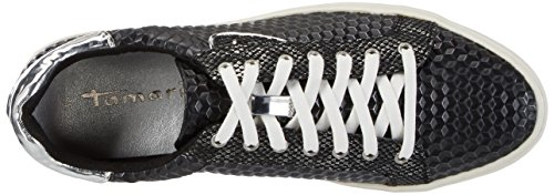 23604 Noir Tamaris Femme black 006 Basses Baskets Struct 4qzwzxgC