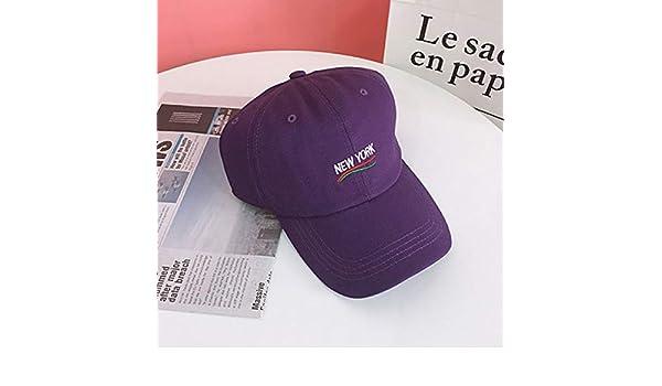 zlhcich Retro Soft Top Black Baseball Hat Mujer Verano Street ...
