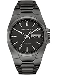 Men's WN3046XG Quartz Diamonds Black 41mm Watch (Certified Refurbished)