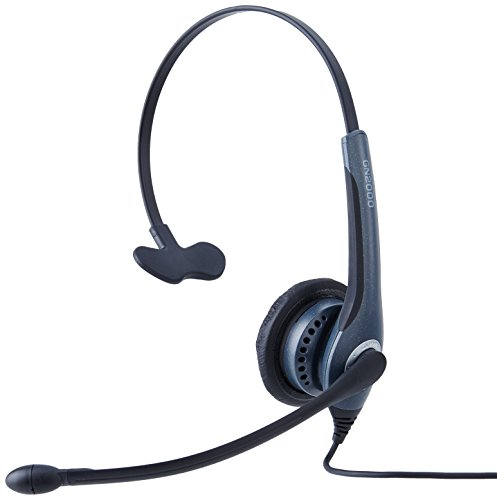 Jabra Headset Monaural with Noise Canceling Boom (2003-820-105)